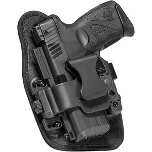 Alien Gear ShapeShift Appendix Carry S&W M&P Shield 9mm IWB Holster Left Handed Synthetic Backer with Polymer Shell Black