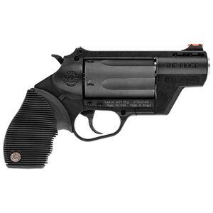 "Taurus Judge Public Defender Polymer .45 Long Colt/.410 Bore DA Revolver 2.5"" Barrel 2.5"" Chamber 5 Rounds Fiber Optic Front Sight Taurus Ribber Grip Black"