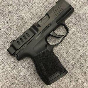 Techna Clip Retention Belt Clip SIG P365 Ambidextrous Black P365-BA