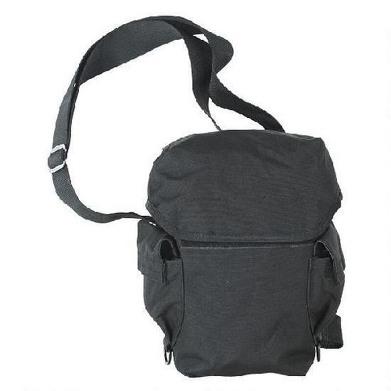 Voodoo Tactical Deluxe Drop Leg Gas Mask Carrier Black 20-9230001000