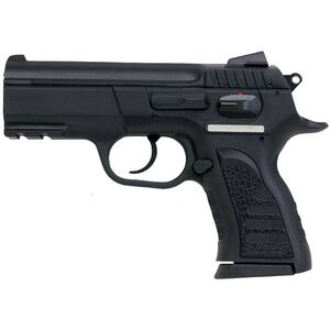 "EAA Witness P Compact Semi Automatic Handgun .45 ACP 3.6"" Barrel 8 Rounds Black Polymer Grips Blued Finish Rail"