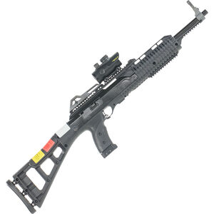 """Hi-Point Firearms Semi Auto Carbine 9mm Luger 16.5"""" Barrel 10 Rounds Polymer Stock Black Finish with Red Dot Sight 995TS-RD"""