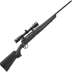 "Savage Arms Axis II XP Compact 6.5 Creedmoor Bolt Action Rifle 20"" Barrel 4 Rounds with 3-9x40 Scope Synthetic Stock Black Finish"