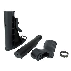 TacFire Mossberg 500 Pistol Grip 6 Position M4 Stock Kit Black MSG004