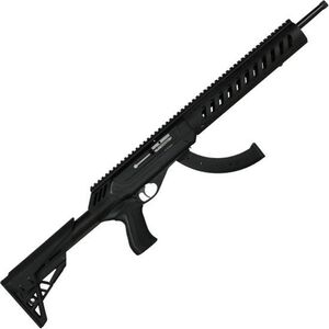 "CZ USA CZ 512 Tactical Trainer Semi Auto Rimfire Rifle .22 LR 16.5"" Threaded Barrel 25 Rounds 6 Position Adjustable Stock Black Finish 02163"
