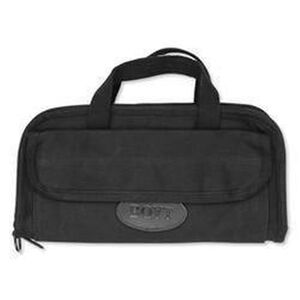 "Boyt Harness Company Double Pistol Case 13""x7"" Canvas Black 0PP911DG3"