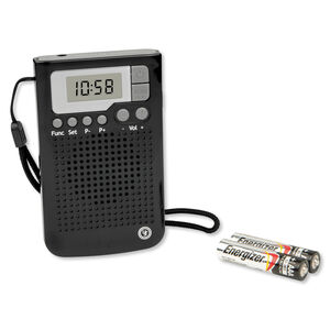 Ultimate Survival Technologies Weatherband Radio Black 20-02181-01