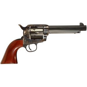 "Taylor's & Co Drifter .357 Mag Single Action Revolver 5.5"" Octagonal Barrel 6 Rounds Walnut Grips Case Hardened/Blued Finish"