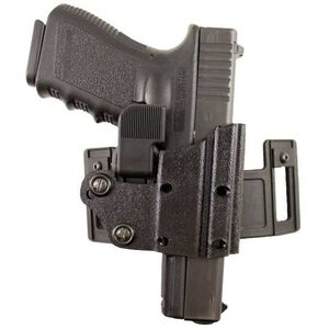 DeSantis Quick Safe Belt Holster For GLOCK 9mm/.40 Level III Ambidextrous Kydex Black 122KJB2Z0