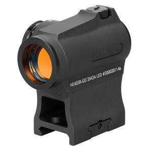 Holosun Gold Dot Sight 2 MOA Dot 20mm with 1/3 Mount HE430R-GD