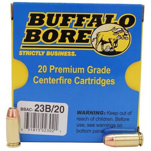 Buffalo Bore .40 S&W +P Ammunition 20 Rounds JHP 180 Grain 23B/20