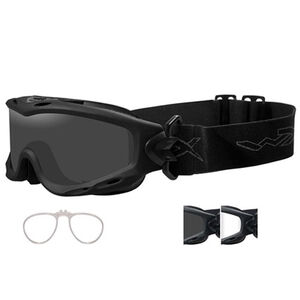 Wiley-X Spear Goggles Multiple Lens Medium-2XL Black