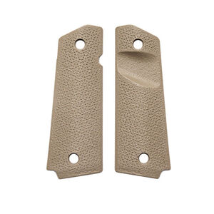 Magpul Grip Panels 1911 Full Size TSP Texture Polymer Flat Dark Earth MAG544-FDE