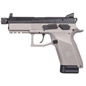 "CZ-USA P-07 Suppressor-Ready Semi Auto Pistol 9mm Luger  4.3"" Threaded Barrel 17 Rounds Tritium Three Dot Sights Picatinny Rail Polymer Frame Urban Grey Finish"