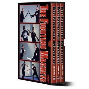 "Cold Steel Training DVD Set ""The Fighting Machete"" 3 Discs VDFM"