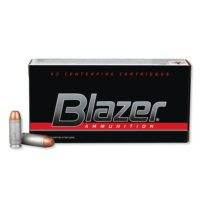 CCI Blazer 10mm Auto Ammunition 1,000 Rounds FMJ 200 Grain 1,050 Feet Per Second