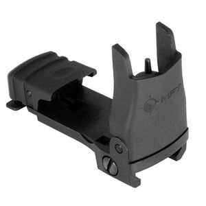 Mission First Tactical AR-15 Back Up Flip Up Front Sight Polymer Black BUPSWF