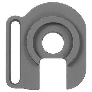 Midwest Industries Mossberg 500/590 End Plate Adapter Left Hand Slot Sling Mount Aluminum Black