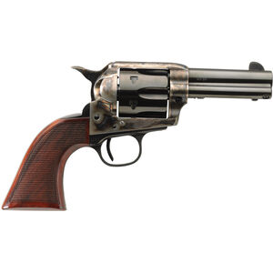 "Taylor's & Co The Short Stroke Runnin' Iron .45 LC Single Action Revolver 3.5"" Barrel 6 Rounds Tuned Action Checkered Walnut Grips Case Hardened/Blued  Finish"