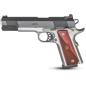 """Springfield Armory 1911 Ronin Operator 9mm Luger Semi Auto Pistol 5"""" Barrel 9+1 Rounds Stainless/Blued PX9119L"""