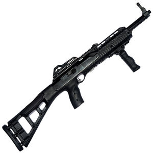 "Hi-Point Carbine Semi Auto Rifle .380 ACP 16.5"" Barrel 10 Rounds Polymer Target Stock Black Finish with Forward Grip 389TSFG"