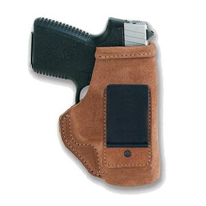 Galco Stow-N-Go Springfield XD-S Inside The Waistband Holster Right Hand Steer Hide Natural STO662