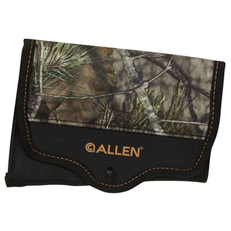 Allen Buttstock 8 Round Rifle Shell Holder With Cover Nylon Mossy Oak Break Up