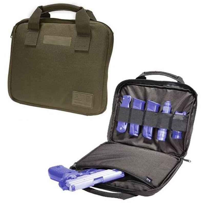 5.11 Tactical Single Pistol Case Padded Interior YKK Zippers 1050D Nylon Sandstone