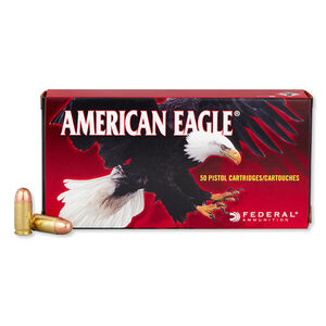 Federal American Eagle .380 ACP Ammunition 95 Grain FMJ 980 fps