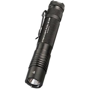 Streamlight ProTac HL USB High Lumen Tactical Handheld LED Flashlight 850 Lumens C4 LED Rechargeable Li-On 18650 Battery Tail Cap Switch Pocket Clip Aluminum Black with Holster 88052
