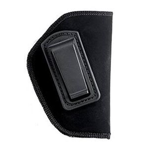 "BLACKHAWK! Inside the Pant Holster for 2"" Small Frame 5 Shot Revolver with Hammer Spur, Right Hand, Belt Clip, Black"
