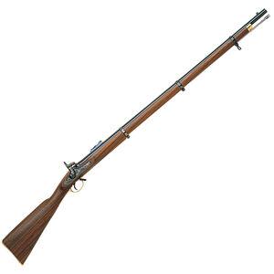 "Chiappa 1853 Enfield Black Powder Rifle .58 Caliber Percussion Ignition 39"" Barrel Case Hardened Lock Walnut Stock Blued 910-013"