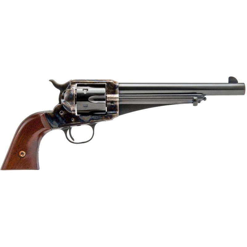 """Cimarron Firearms 1875 Outlaw .44-40 Win Revolver 6 Rounds 7.5"""" Barrel Walnut Grips Color Case Hardened/Blued Finish"""