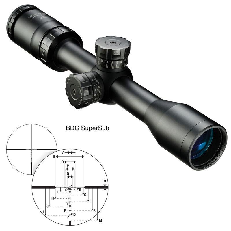 Nikon P-Tactical 300 BLK 2-7x32 Riflescope BDC SuperSub Reticle Fixed Parallax Matte Black