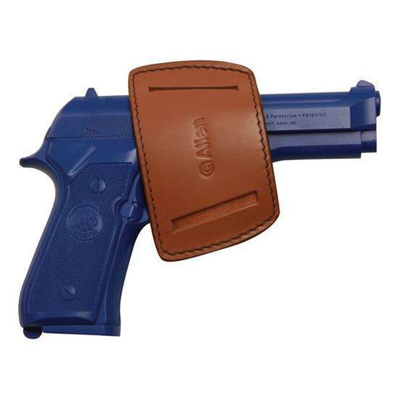 Allen Glenwood Leather Belt Slide Holster Fits Small Frame Handguns Ambidextrous Brown