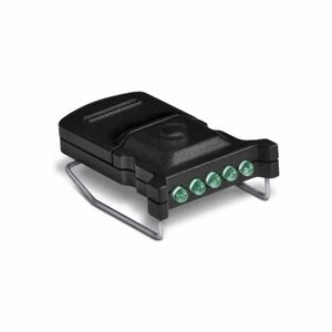 Cyclops Micro Hat Clip Light 5 Green LED's