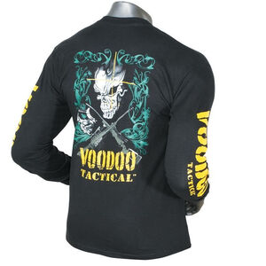 Voodoo Tactical Long Sleeve Tee Preshrunk Cotton XXL Black 20-009401097