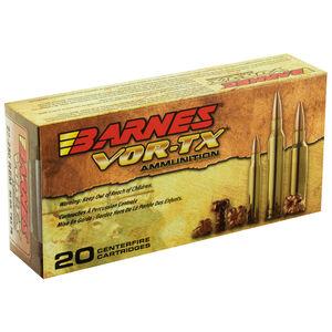 Barnes VOR-TX .22-250 Remington Ammunition 20 Rounds 50 Grain Barnes TSX Flat Base Lead Free Projectile