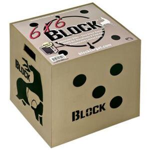 Block Targets 6x6 Target 6 Target Faces18 x 18 x 16 inch Layered Foam