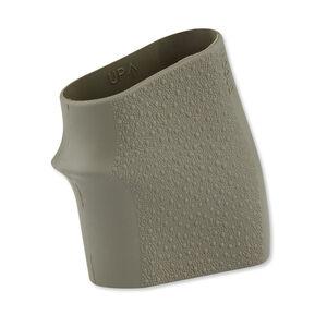 Hogue Handall Jr. Small Size Grip Sleeve Rubber OD Green 18001