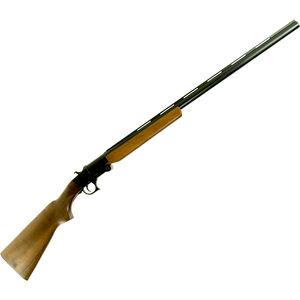 "Hatfield SGL 12 Single Shot 12 Gauge 28"" Barrel 3"" Chamber 1 Round Walnut Stock Black"