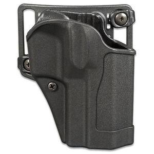 "BLACKHAWK! Sportster Standard CQC Belt/Paddle Holster Springfield XD/XD(M) 3.8-4"" Right Hand Polymer Black 415607BK-R"
