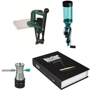 RCBS Explorer Single Stage Reloading Kit With Nosler Manual Aluminum Green 9286