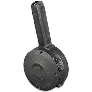 KCI 50 Round Polymer Drum Magazine For GLOCK 17, 18, 19, 26 and 34 Made in Korea