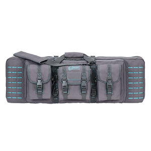 "Voodoo Tactical 36"" Padded Weapons Case Nylon Gray/Teal"