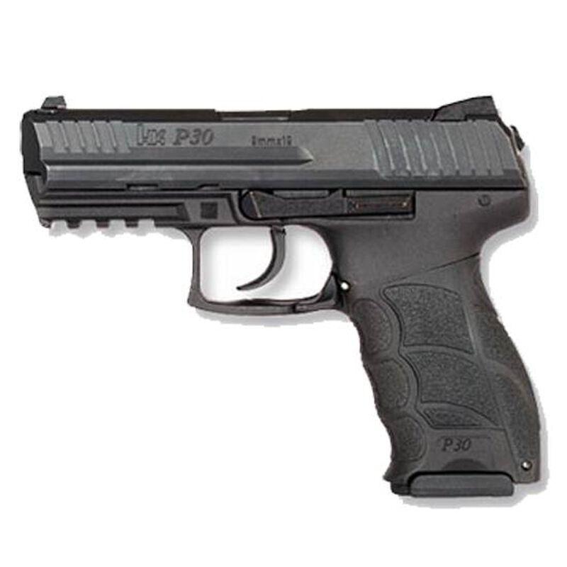 "HK P30 V1 Lite LEM Semi Auto Pistol 9mm Luger 3.85"" Barrel 15 Rounds Black"