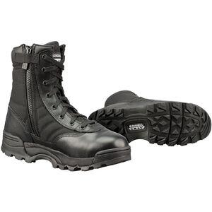 "Original S.W.A.T. Classic 9"" Side Zip Men's Boot Size 12 Wide Non-Marking Sole Leather/Nylon Black 115201W-12"