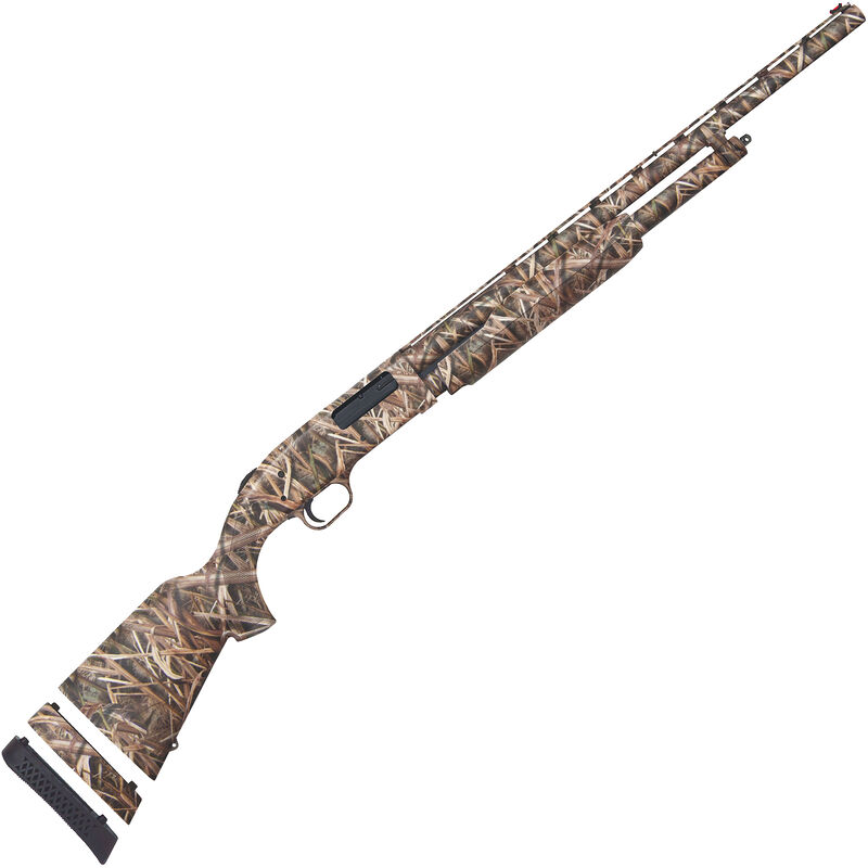 """Mossberg 500 Youth Super Bantam Waterfowl 20 Gauge Pump Action Shotgun 22"""" Barrel 3"""" Chamber 5 Rounds FO Sight Synthetic Stock MOSGB Camo"""