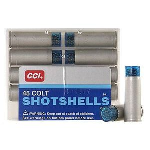 CCI .45 Colt Shotshell Ammunition 10 Rounds #9 Shot 150 Grains