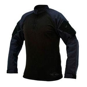 TruSpec TRU Quarter Zip Winter Combat Shirt Mens Med. Navy